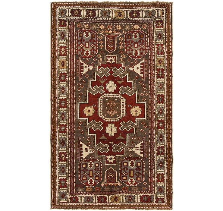 4' 2 x 7' 3 Shiraz Persian Rug