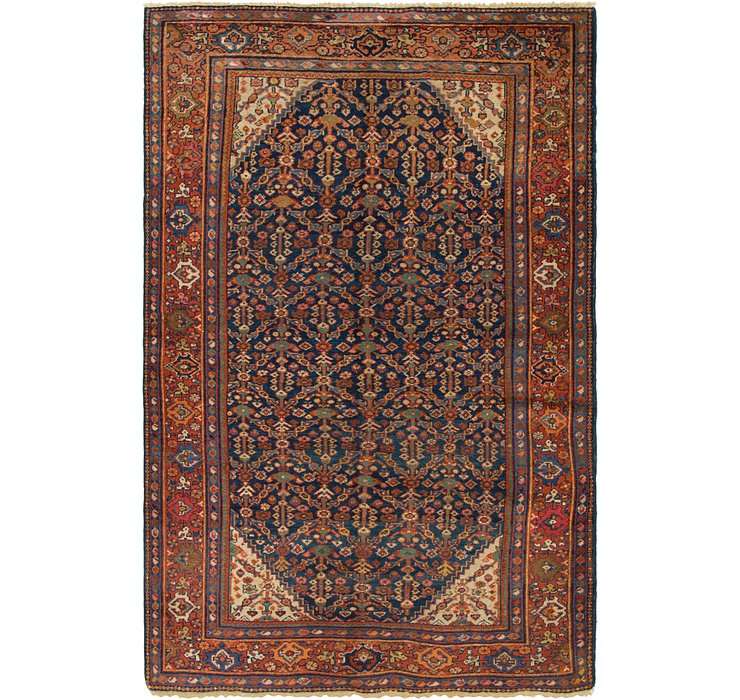 4' 6 x 6' 8 Malayer Persian Rug
