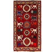 Link to 3' 6 x 6' 7 Ghashghaei Persian Rug