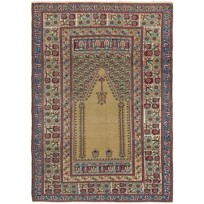 4' 2 x 6' Lahour Oriental Rug