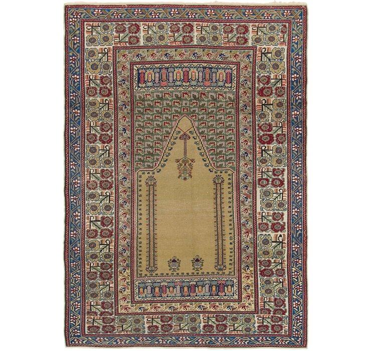 4' 2 x 6' Lahour Oriental Rug
