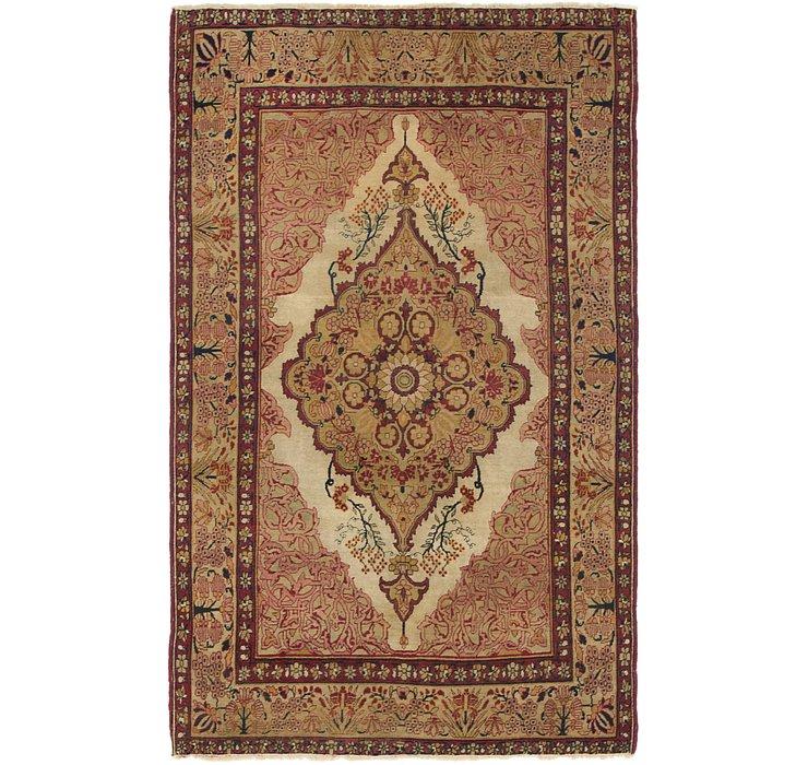 130cm x 213cm Kerman Persian Rug