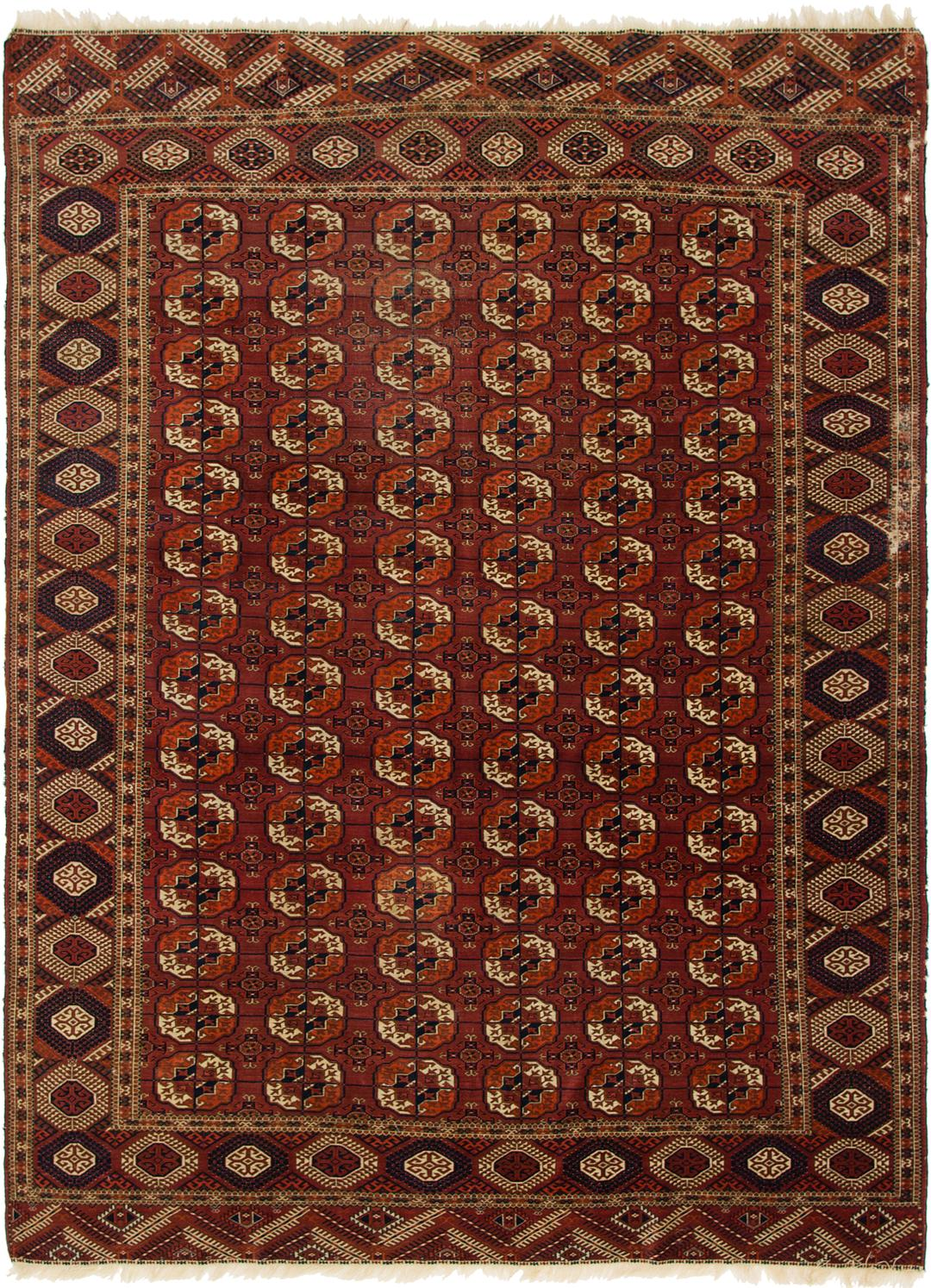 Main Unique Loom 7 3 X 9 Bokhara Oriental Rug Photo