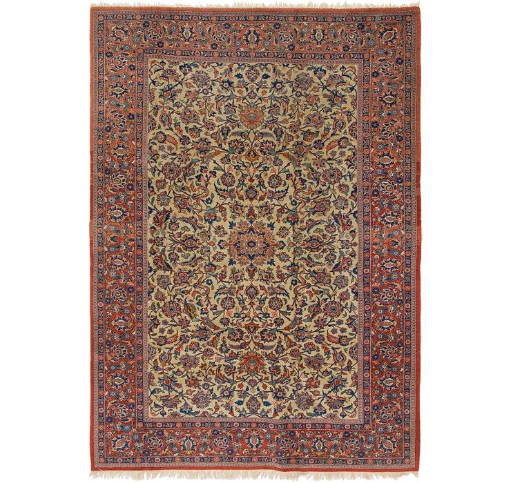 6' 2 x 8' 9 Kashan Persian Rug