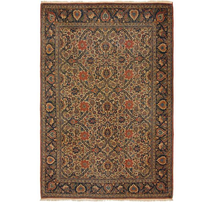 7' 3 x 10' 9 Kashan Persian Rug