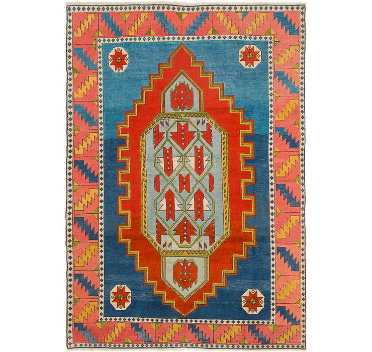 HandKnotted 7' 6 x 11' Kars Rug