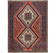 Link to 4' 3 x 5' 7 Mazlaghan Persian Rug