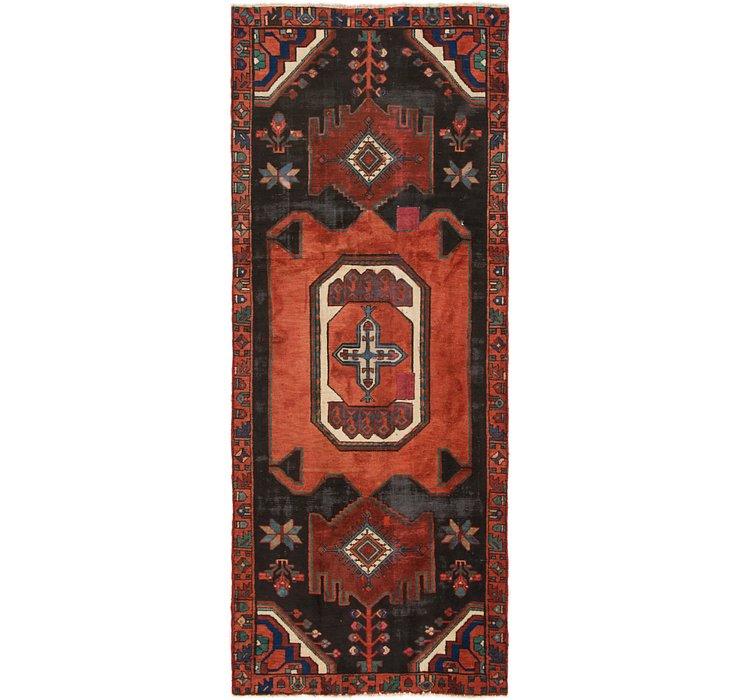 4' x 9' 6 Zanjan Persian Runner Rug