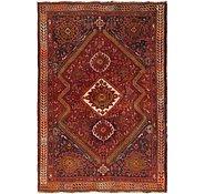 Link to 4' 7 x 6' 10 Shiraz Persian Rug