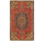 Link to 4' 7 x 8' Tabriz Persian Rug