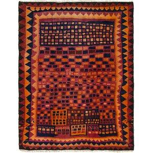 Link to 4' 9 x 6' Shiraz-Lori Persian Rug item page