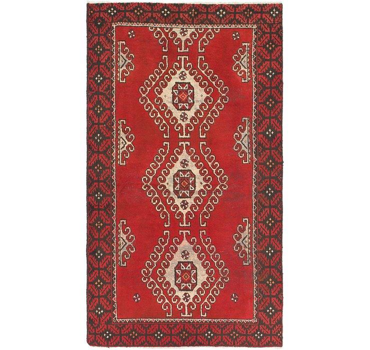 3' 9 x 7' Ferdos Persian Rug