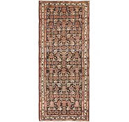 Link to 3' 7 x 9' Hossainabad Persian Runner Rug
