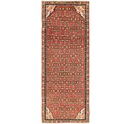 Link to 105cm x 280cm Hossainabad Persian Runner Rug