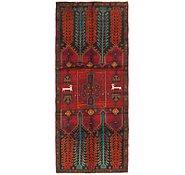 Link to 3' 8 x 9' 2 Hamedan Persian Runner Rug