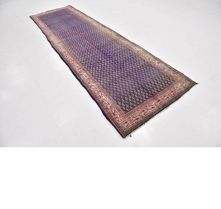 112cm x 378cm Mahal Persian Runner Rug