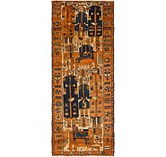 Link to 4' 6 x 11' 10 Shiraz-Lori Persian Runner Rug