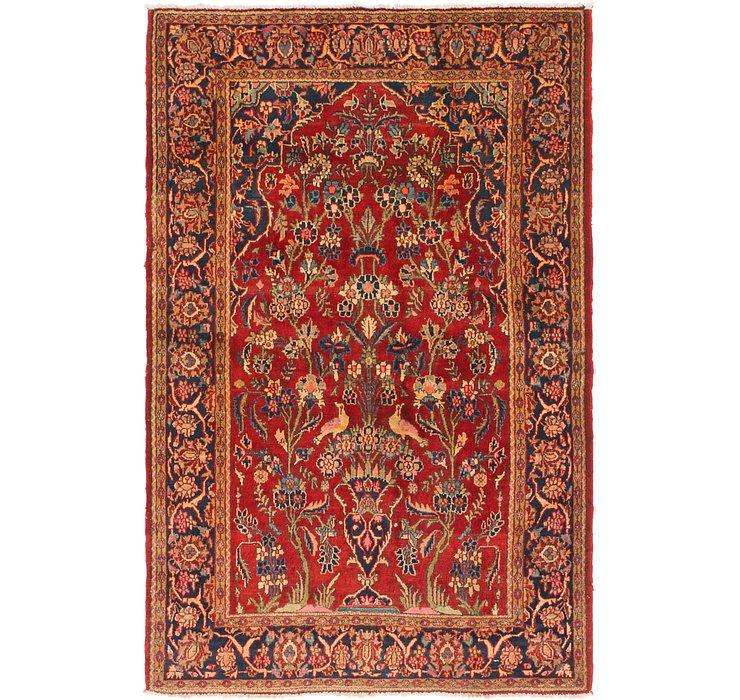 4' 3 x 6' 5 Birjand Persian Rug