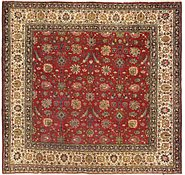 Link to 9' 2 x 9' 5 Tabriz Persian Square Rug