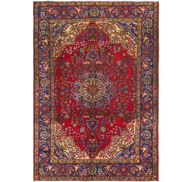 6' 6 x 9' 3 Tabriz Persian Rug