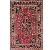 Link to 6' 4 x 9' 7 Mashad Persian Rug