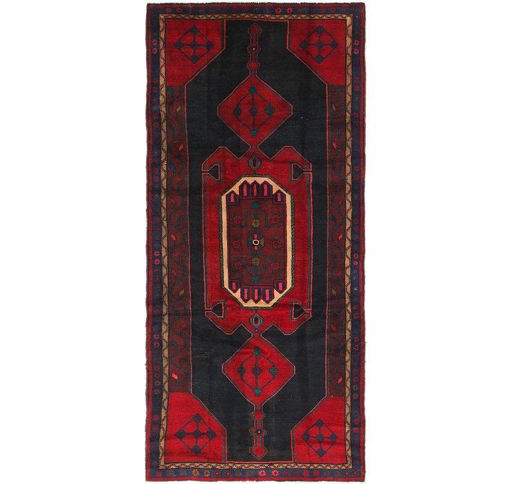 4' 4 x 9' 8 Zanjan Persian Runner Rug