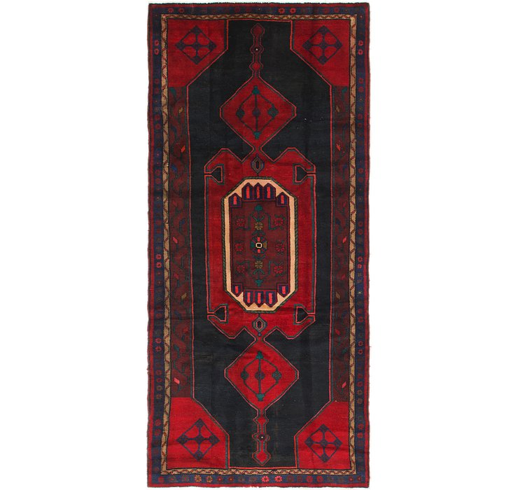 132cm x 295cm Zanjan Persian Runner Rug