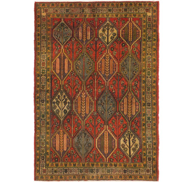 4' 9 x 7' Bakhtiar Persian Rug