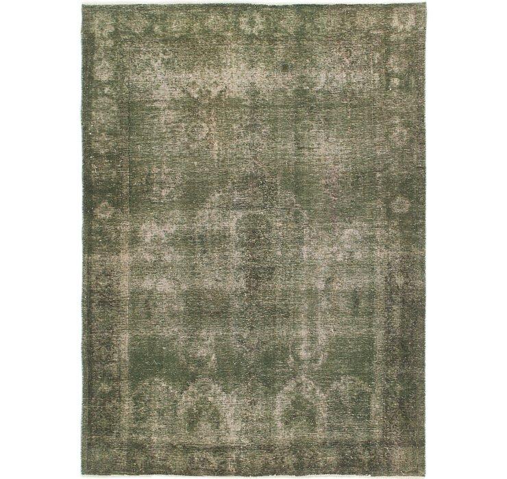 195cm x 270cm Ultra Vintage Persian Rug