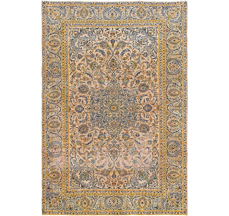 7' 7 x 11' 2 Kashan Persian Rug