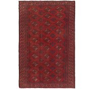 Link to 4' 3 x 6' 9 Torkaman Persian Rug