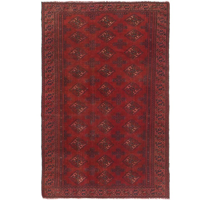 130cm x 205cm Torkaman Persian Rug
