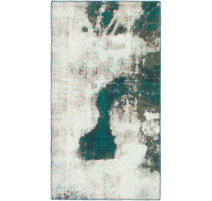 70cm x 135cm Ultra Vintage Persian Rug