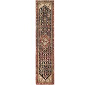 Link to 2' 10 x 13' Hossainabad Persian Runner Rug