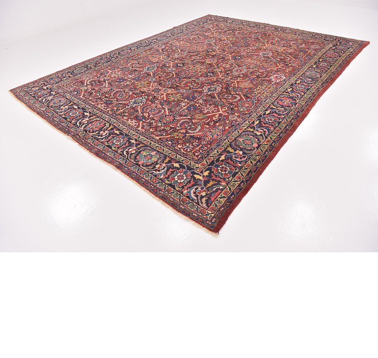 282cm x 380cm Varamin Persian Rug