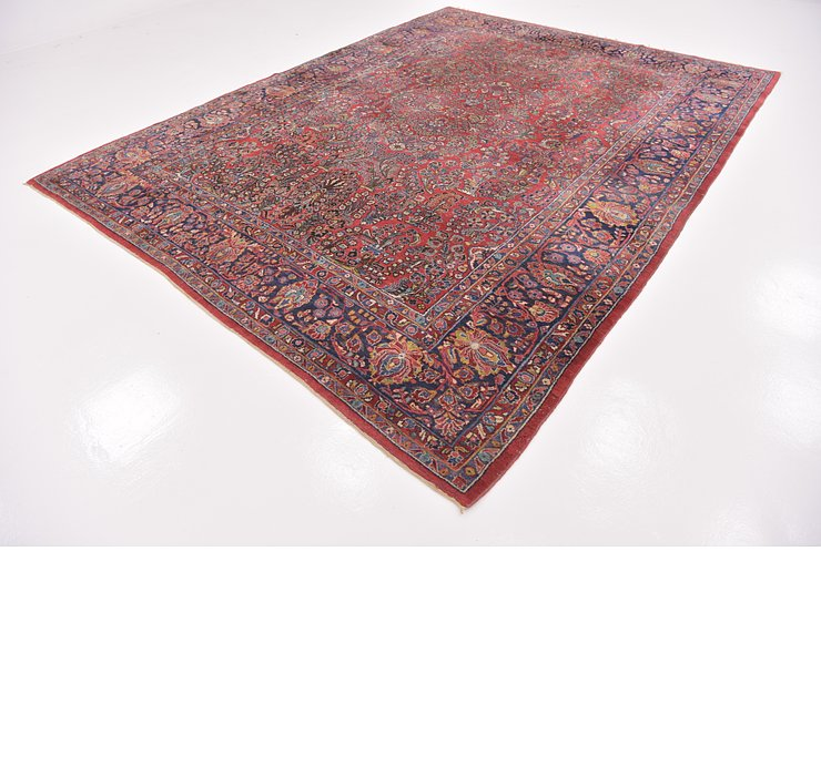 9' x 11' 10 Sarough Persian Rug