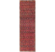 Link to 2' 7 x 9' Hossainabad Persian Runner Rug