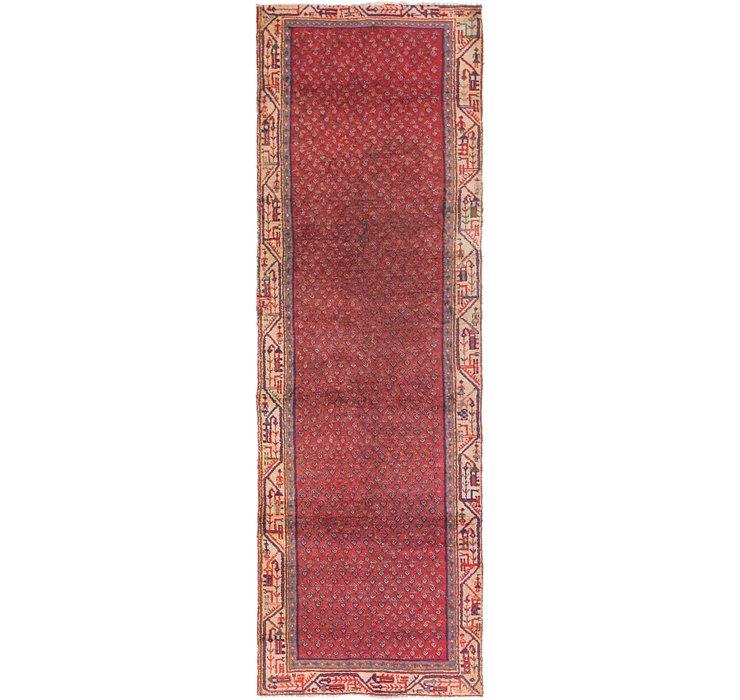 3' x 9' 6 Mahal Persian Runner Rug