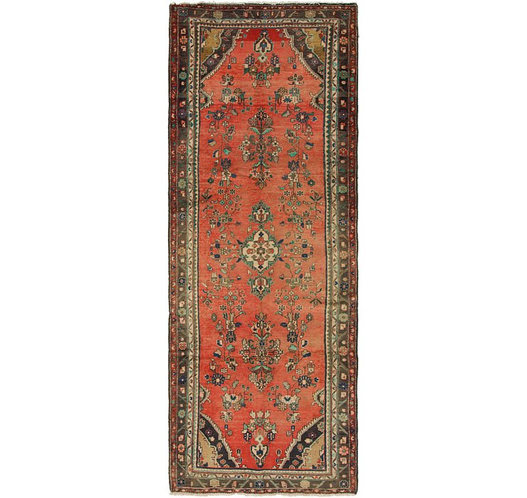 3' 9 x 10' 3 Hamedan Persian Runner ...
