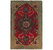 Link to 3' 4 x 5' Tabriz Persian Rug