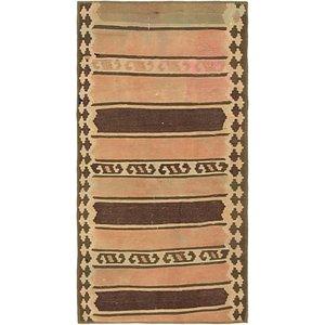 Unique Loom 2' 4 x 4' 8 Kilim Fars Rug