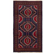 Link to 3' 6 x 6' 6 Balouch Persian Rug