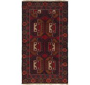 Link to 107cm x 188cm Balouch Persian Rug