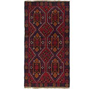 Link to HandKnotted 3' 7 x 6' 7 Balouch Persian Rug