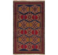 Link to 107cm x 178cm Balouch Persian Rug