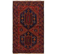 Link to Unique Loom 3' 4 x 6' 2 Balouch Persian Rug