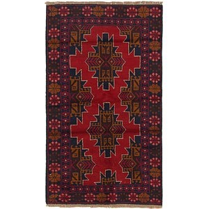 Link to 100cm x 183cm Balouch Persian Rug item page