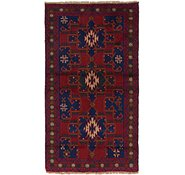 Link to 107cm x 190cm Balouch Persian Rug