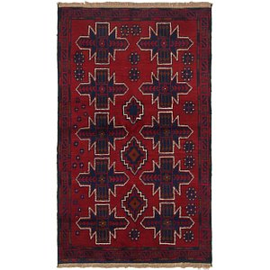 Link to 3' 7 x 6' 2 Balouch Persian Rug item page