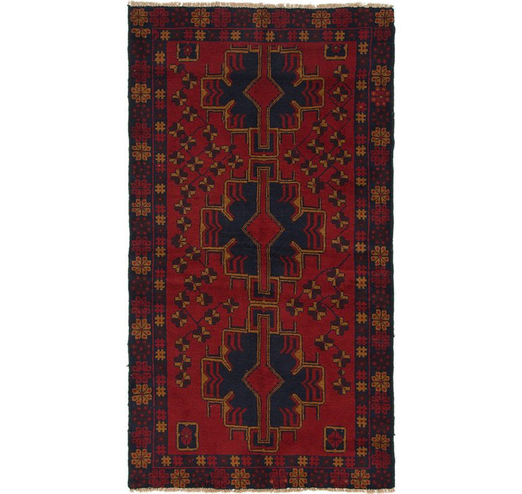 HandKnotted 3' 8 x 6' 6 Balouch Persian Rug